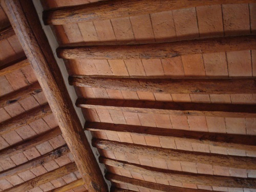 Italian ranch house ceiling
